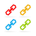 Chain link vector icon