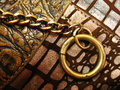 Chain-Ring Background Stock Photos