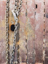 Chain with rusty metal surface Royalty Free Stock Photo