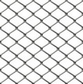 Chainlink fence seamless Royalty Free Stock Photo