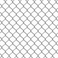 Chainlink fence. Seamless illustration. Royalty Free Stock Photos