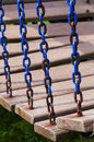 Chains and chair Royalty Free Stock Photo