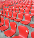 Chair array Royalty Free Stock Images