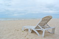 Chair on the beach Royalty Free Stock Image