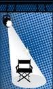 Chair del Direttore Immagine Stock