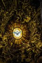Rome, Vatican City, St. Peter's Basilica, inside the altar of th Royalty Free Stock Photo