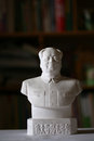 Chairman mao maozedong little statue set in chinese people home Stock Photo