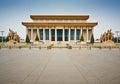 Chairman Mao Memorial Hall Royalty Free Stock Photo