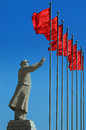 Chairman Mao's Statue Royalty Free Stock Photo