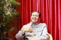Chairman mao's wax figure Royalty Free Stock Photo