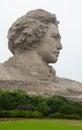 Chairman Mao statue in Changsha Royalty Free Stock Photo