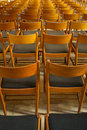 Chairs and perspective Stock Images