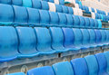 Chairs stadium china national stadium beijing Royalty Free Stock Image