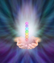 Chakra Healer Royalty Free Stock Photo