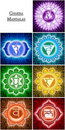 Chakra Mandalas Royalty Free Stock Photo