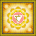 Chakra Manipura Royalty Free Stock Photography