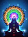 Chakra Meditation vert