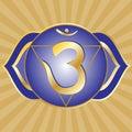 Chakra Series: Ajna Royalty Free Stock Photography
