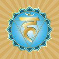 Chakra Series: Vishudha Royalty Free Stock Image
