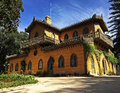 Chalet condessa d edla in sintra portugal near lisbon lies well known for it s pena palace and also for this beautiful Stock Photography