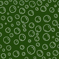 Chalkboard bubbles seamless pattern Stock Photos