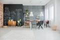 Chalkboard kitchen decor