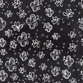 Chalkboard seamless butterfly pattern copy that square to the s side you ll get seamlessly tiling which gives resulting Royalty Free Stock Photos