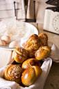 Challah for shabbat in different shapes and sizes the sabbath and rosh hashanah Royalty Free Stock Photography