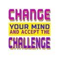 Challenge banner concept