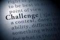 Challenge Royalty Free Stock Photo