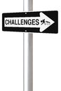 Challenges This Way Royalty Free Stock Photo