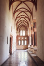 Chamber in greatest gothic castle in europe malbork poland world heritage list unesco Royalty Free Stock Photography