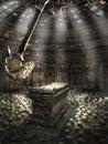 Chamber with pendulum