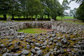 Chambered cairn Royalty Free Stock Photo