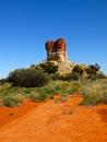 Chambers pillar nothern territory australia beautiful Stock Photography