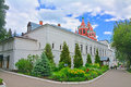 Chambers in Savvino-Storozhevsky man's monastery in Zvenigorod, Russia Royalty Free Stock Photo