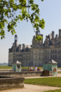 Chambord Castle Stock Images