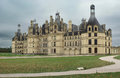Chambord Castle. France. Stock Photos