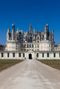 Chambord castle loire et cher france Stock Photo