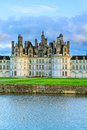 Chambord castle, Loire Valey, France Stock Photo