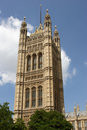 Chambres du Parlement, London.U.K Images libres de droits