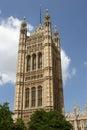 Chambres du Parlement, London.U.K Images libres de droits