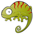Chameleon illustration Royalty Free Stock Images