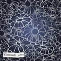 Chamomile pattern seamless can be used for wallpaper website background textile printing Stock Photos