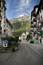 Chamonix, France Stock Photo
