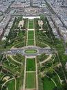 Champ de Mars - París Foto de archivo libre de regalías