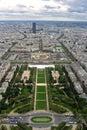 Champ de Mars - París Fotos de archivo libres de regalías
