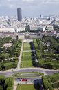 Champ de mars park paris france Royalty Free Stock Image