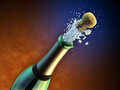 Royalty Free Stock Photography Champagne bottle