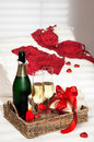 Champagne Breakfast Stock Images
